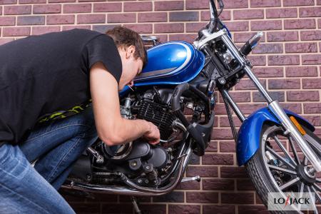 Kradzież motocykla