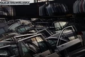Drzwi od skradzionych pojazdów