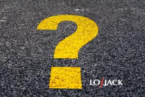 LoJack znak zapytania