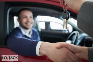 Oddanie kluczyków do samochodu